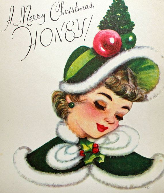 3553 best Vintage Christmas Cards images on Pinterest | Vintage ...