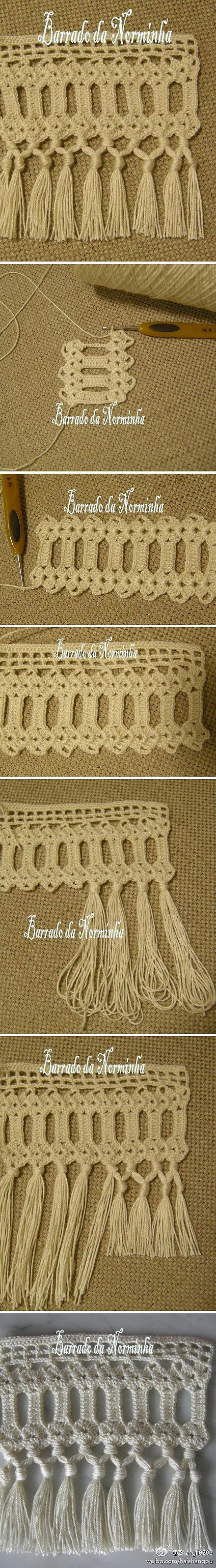 beautiful edging crochet