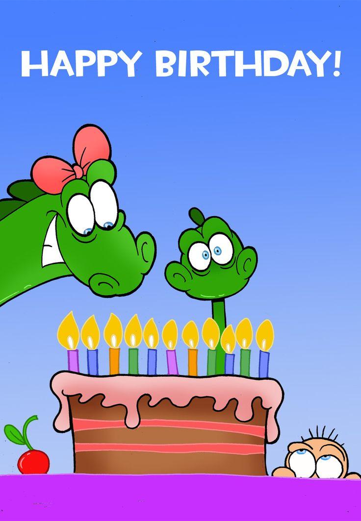 free printable happy birthday little dinosaur greeting