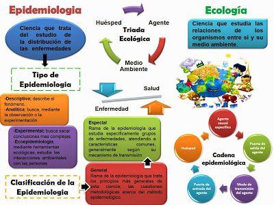 Enfermería Comunitaria : Epidemiologia, Cadena Epidemiologica, Ecologia, Triada Ecologica