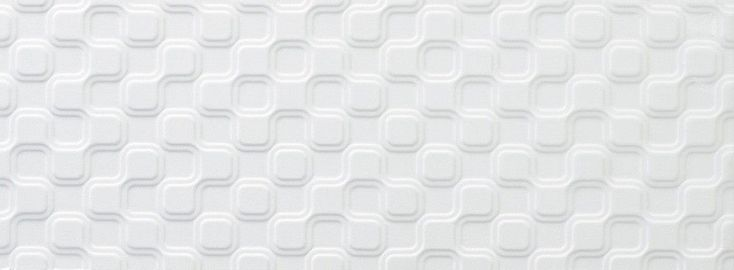 Nano White Tiles Tones-Effects Tiles 400x150x10mm Tiles