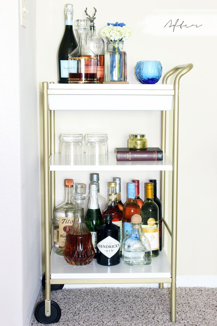 the 25 best ikea bar cart ideas on pinterest drinks trolley ikea bar cart decor and bar carts. Black Bedroom Furniture Sets. Home Design Ideas