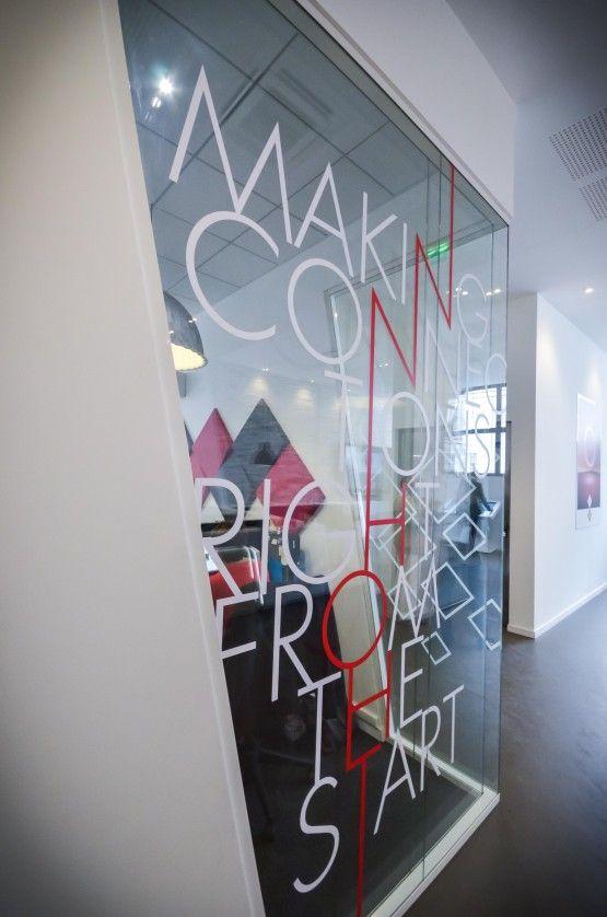 MOSWO | le privé | The Links | agencement | bureaux | design d'espace | signalétique