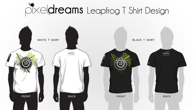 Leapfrog T Shirt Design