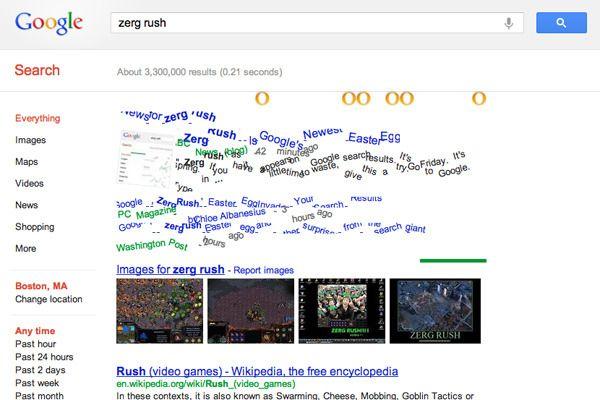 A good time pass  zerg rush from Google
