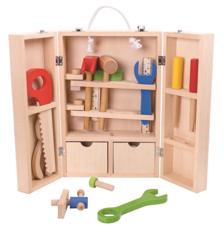 All little builders beware! Dangerously fun tools! Play with caution :)