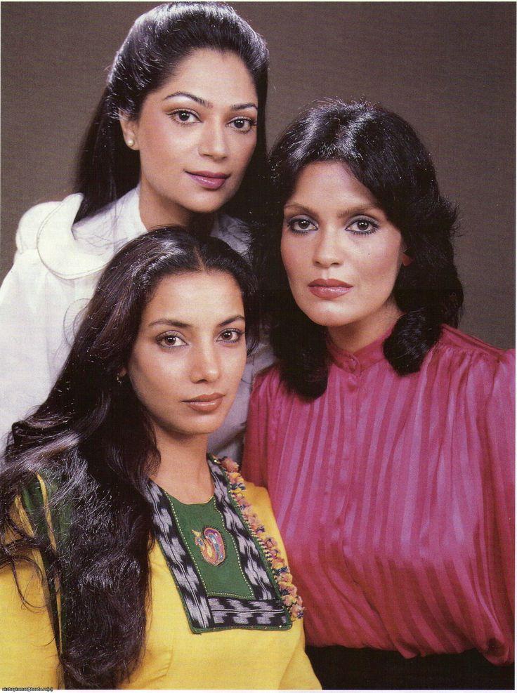 Simi Garewal, Shabana Azmi & Zeenat Aman