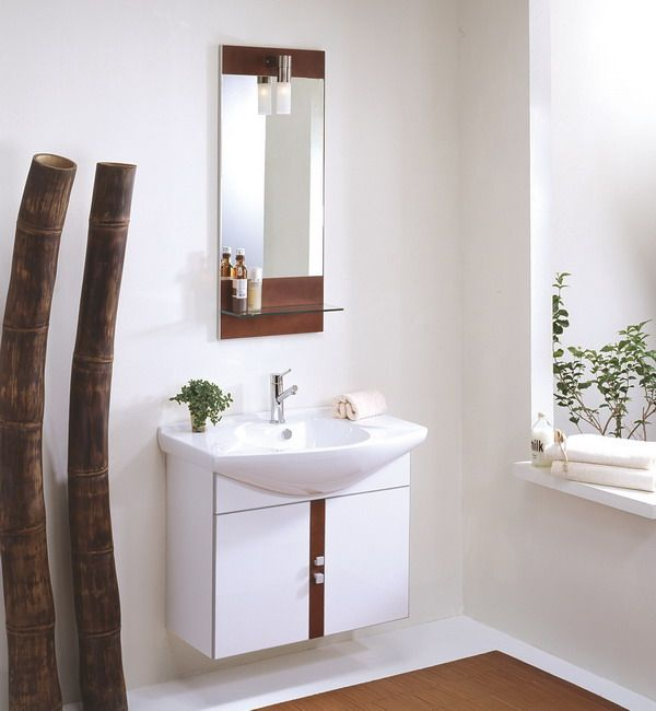 Image On small bathroom vanity