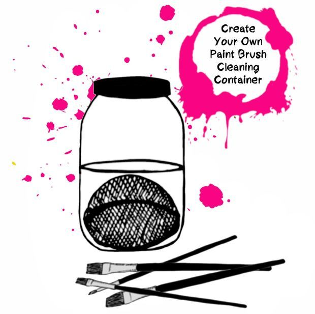'Create Your Own Paint Brush Cleaning Container...!' (via Instructables.com)