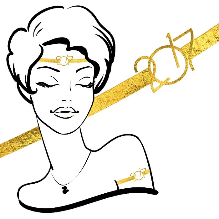 2017 Golden Headband or Armband TemporaryTattoos #49(10 pack) *FREE SHIPPING* If you're buying tattoos only we would like to offer you Free Shipping. Use the discount co...