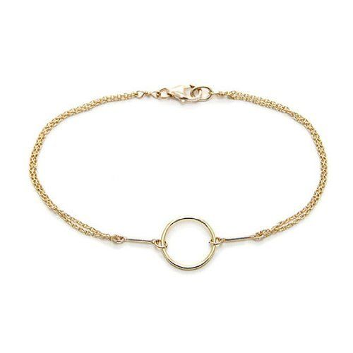 Dogeared Gold Karma Bracelet Dogeared. $74.00