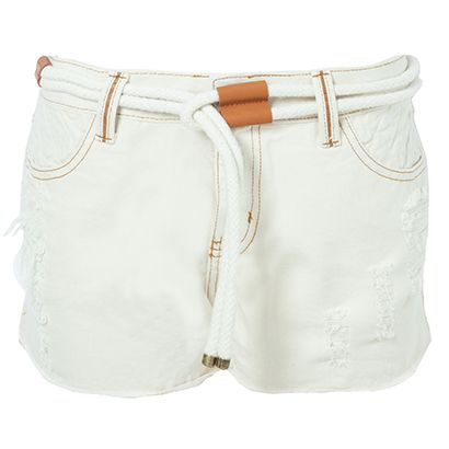 LE LIS BLANC - Short sarja Le Lis Blanc Marina - off white - OQVestir