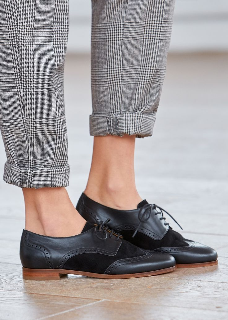 9a0babc7983a92 Pin by Madame.tn on Shopping in 2019 | Chaussure, Tendance chaussures 2017,  Derbies