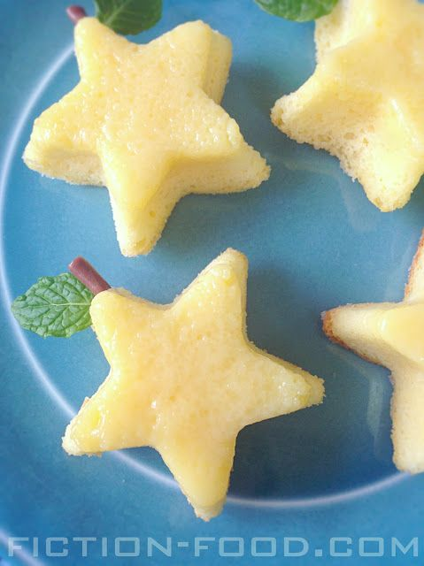 """Food Adventures (in fiction!): Paopu Fruit Star Cake for the """"Kingdom Hearts"""" Series"""