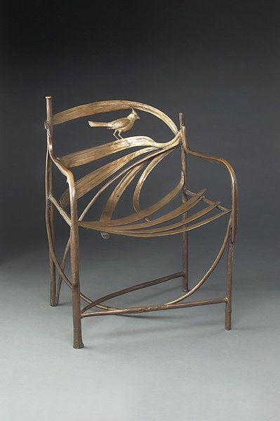 Claude et François Lalanne chair. Looks terribly uncomfortable, but what wonderful craftsmanship!