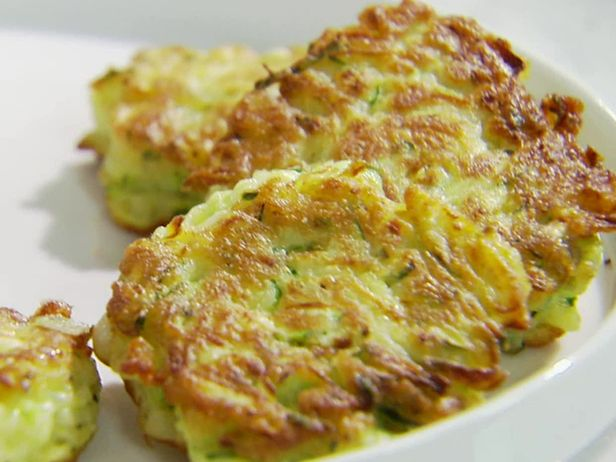 Zucchini Cakes from FoodNetwork.com