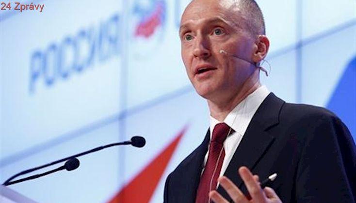'Spolupracuje s ruskou vládou a organizuje spiknutí'. FBI chce sledovat Trumpova poradce