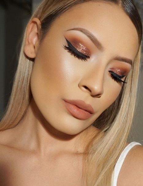 Perfect look for parties. Recreate this look with 'on the rocks' eye shadow from ColourPop