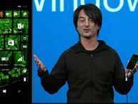 Microsoft makes Windows Phone more personal At the company's Build developer conference in San Francisco, Microsoft Corporate Vice President Joe Belfiore shows off some of the new features of the Windows Phone OS, including a new action center and customizable lock and start screens.