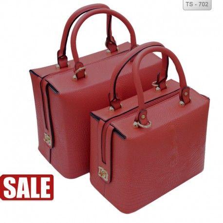 Γυναικεία τσάντα βαλιτσάκι set 2 τεμάχια 69€