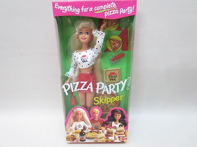 Barbie of the Day:  Pizza Hut Pizza Party Skipper
