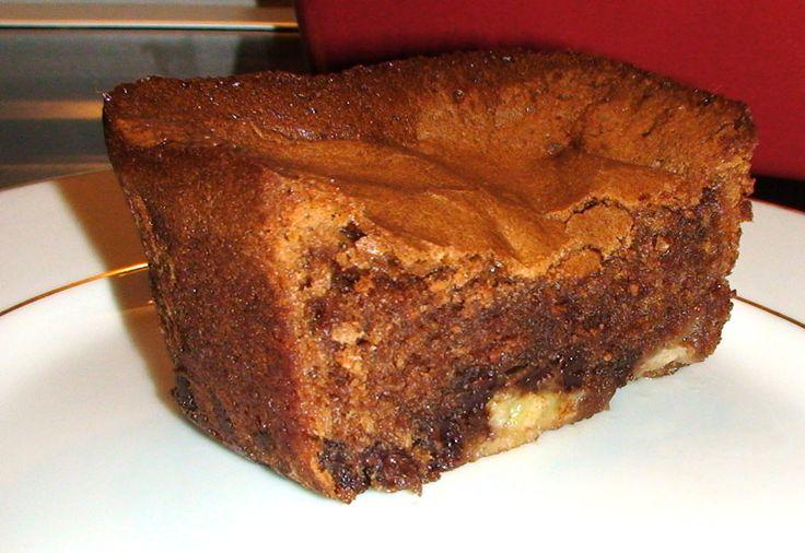 Cake fondant chocolat banane! - HerveCuisine.com