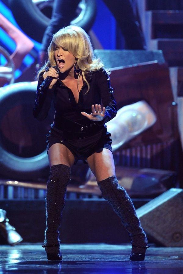Hope, Carrie underwood upskirt on american idol