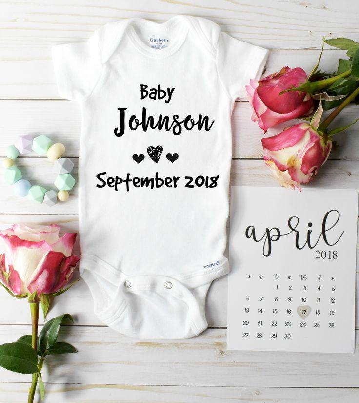 Unique baby announcement ideas!