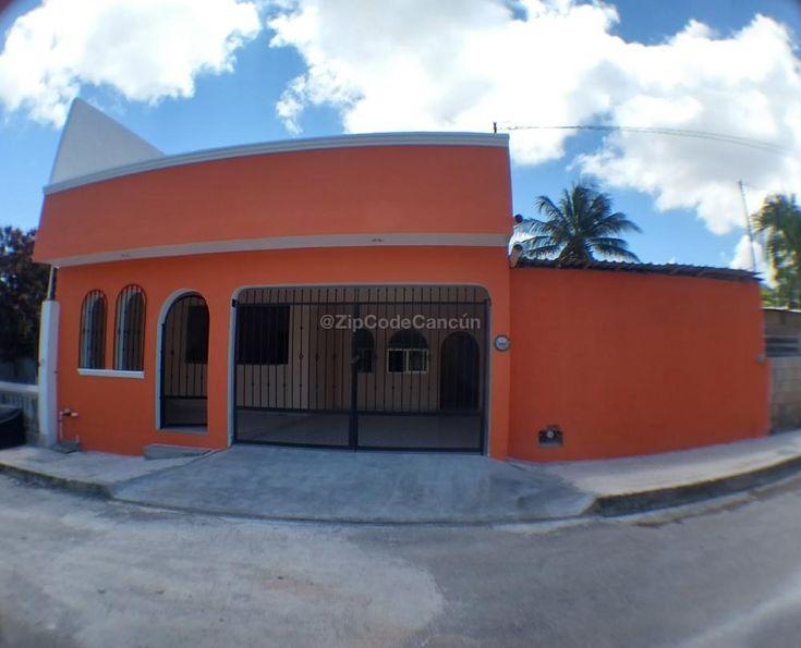 Remato casa en Cancun  Terreno 7.5x20  4 recamaras + estudio 3.5 baños en SM 75 cerca del IMSS de prolongación Tulum Recién remodelada, entre ruta 4 y ruta 7  Venta con crédito: $950 mil  Venta con efectivo: $850 mil