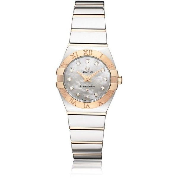 Omega Constellation Watch (6 825 AUD) ❤ liked on Polyvore featuring jewelry, watches, stainless steel jewelry, stainless steel wrist watch, stainless steel jewellery, omega watches and polish jewelry