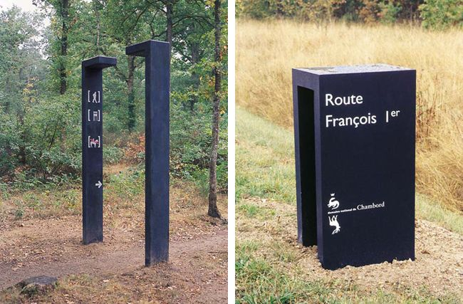 Way-finding Signage | Ruedi Baur