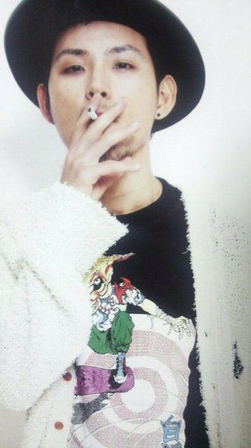 たばこ 松田龍平