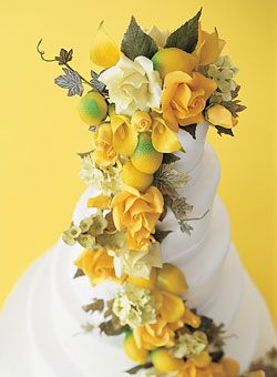 Matching Wedding Cakes and Centerpieces : Wedding Cakes Gallery : Brides