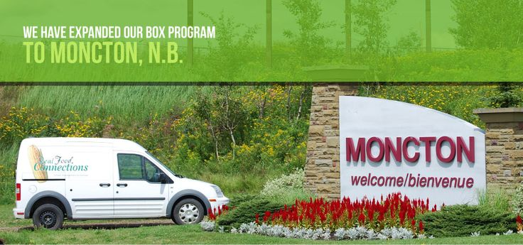 Moncton deliveries go on Wednesdays