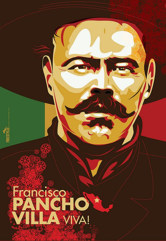 Pancho Villa Design By Freestylee Michael Thompson