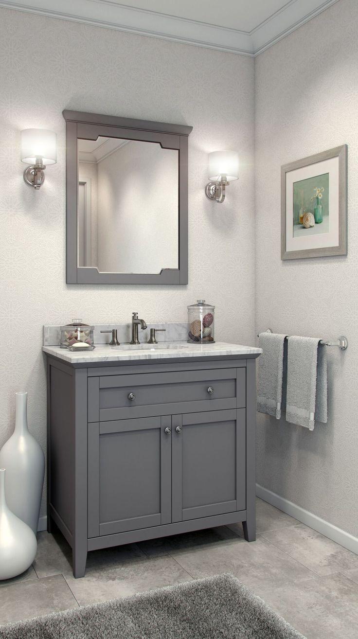 Best 25 Grey Bathroom Vanity Ideas On Pinterest Double Vanity Master Bath And Gold Bathroom