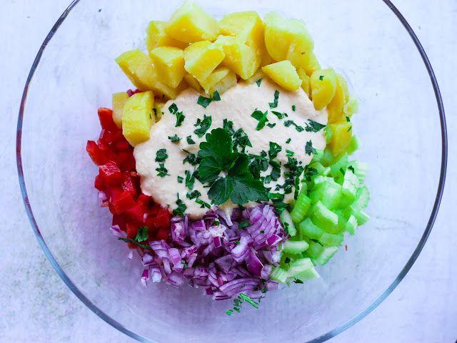 Bramborový salát s majonézou z červené čočky | Cooking with Šůša