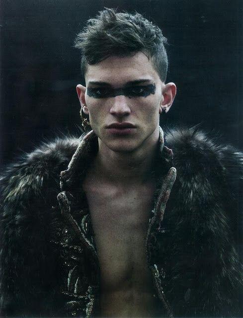 Jean-Baptiste Mondino | Post-apocalyptic Avant-Garde Tribe Fashion