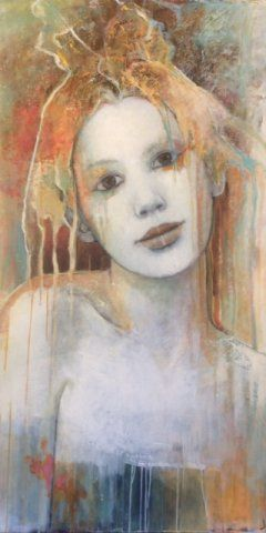 Penelope by Joan Dumouchel - Contemporary Artist - Figurative Painting