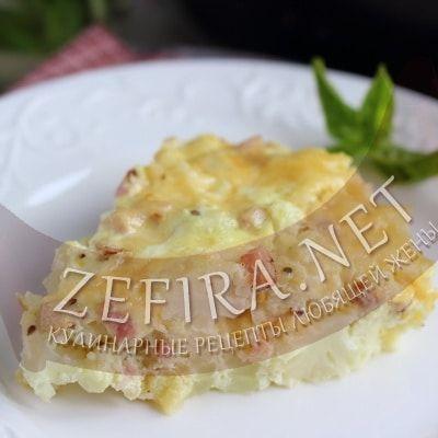 Запеканка из цветной капусты с яйцом и сыром — Кулинарные рецепты любящей жены