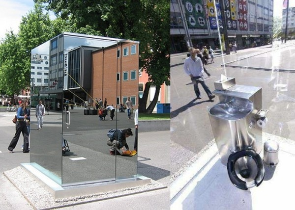 See Through Toilet Designed By Monica Bonvicini Basel