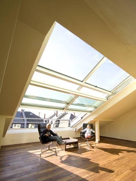 102 besten Dachausbau Bilder auf Pinterest Dachausbau - dachfenster balkon cabrio interieur