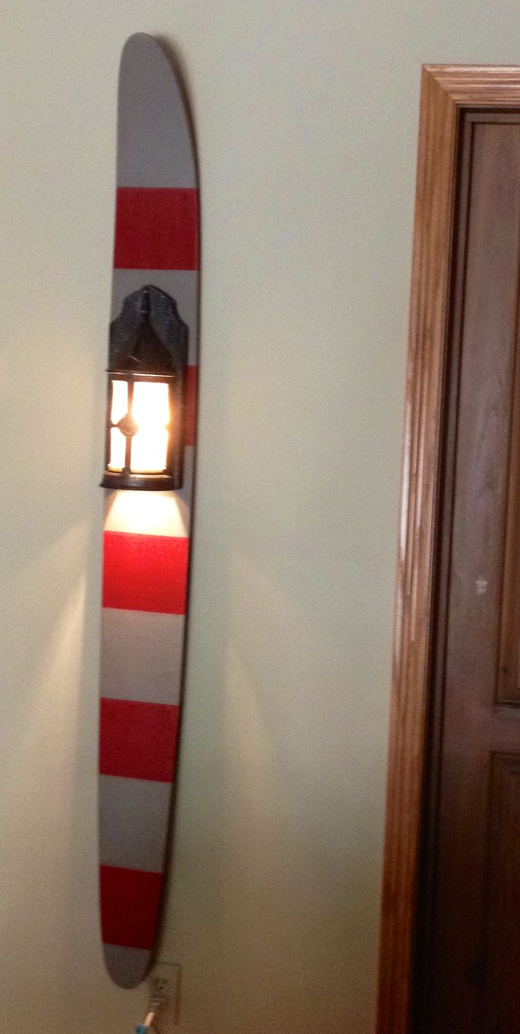 Vintage water ski light