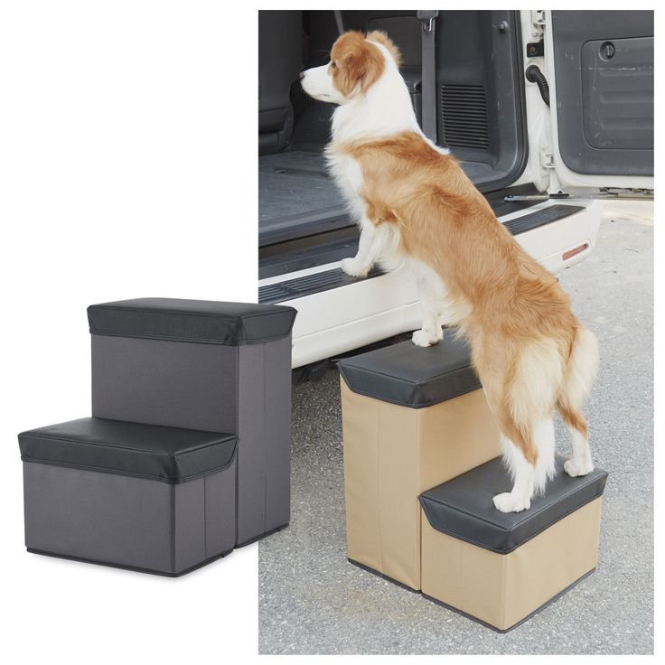 Stowaway Car Pet Steps 119 Spacesaving steps stash
