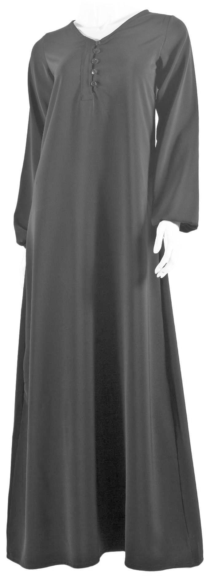 Abaya Yasmine grise