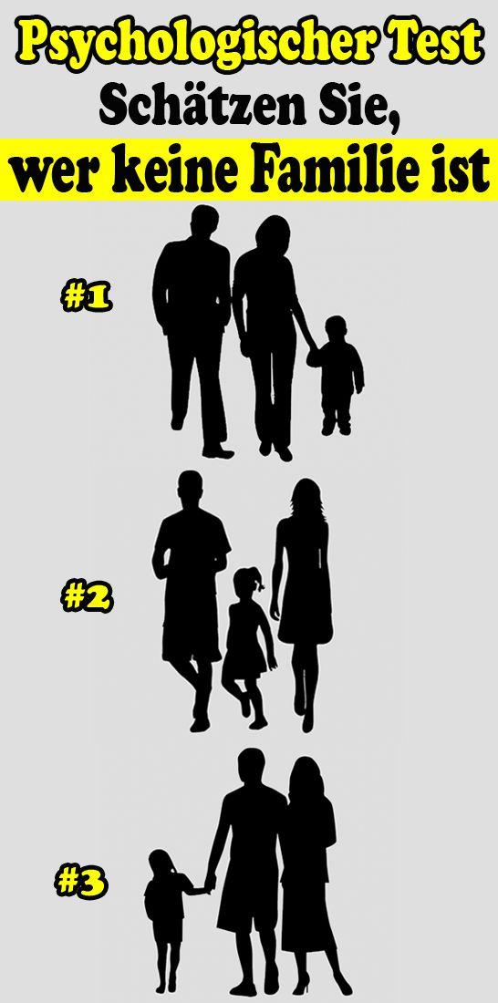 Psychologischer Test: Schätzen Sie, Wer Keine Familie ist – Toni Neumann