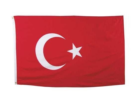 MFH Fahne, Türkei 90 x 150 / mehr Infos auf: www.Guntia-Militaria-Shop.de