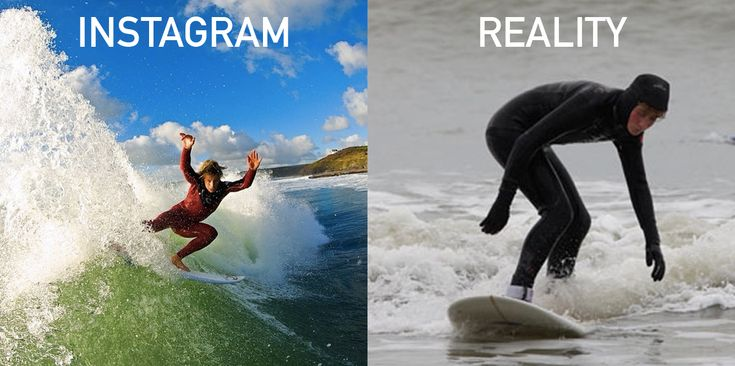 Instagram vs. Reality: What Surfing Is Really Like... | Mpora