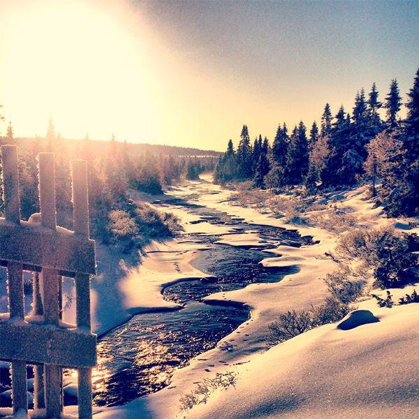 Sjusjøen, Lillehammer.