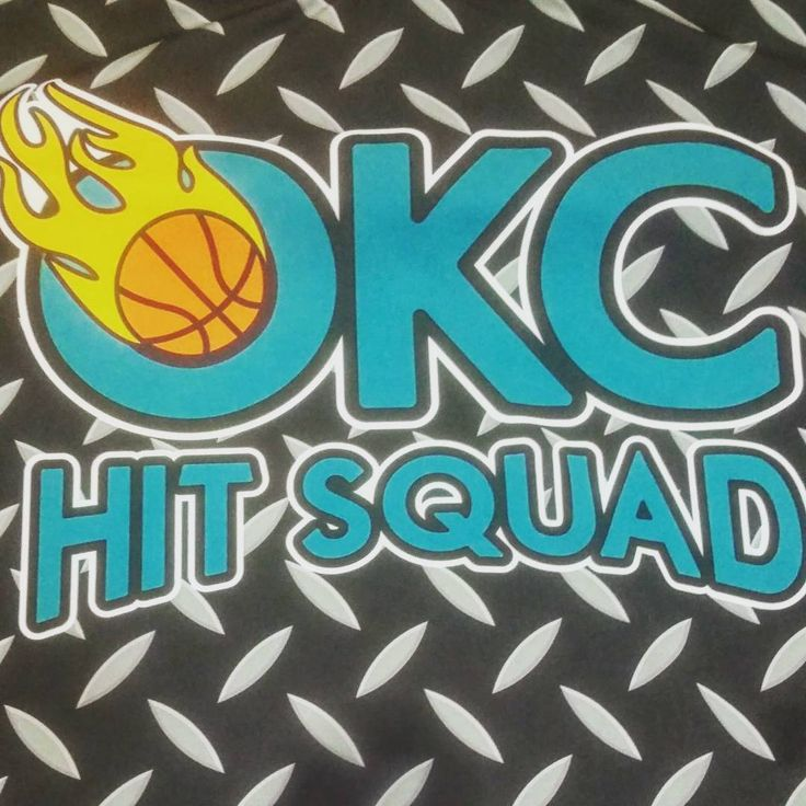Getting up close and personal with #sublimation and the #vibrant #team #logo you can get with it.  #TeamSportsPlanet #basketball #basketballmom #basketballcoach #basketballer #oklahoma #aau #okchitsquad #bball #design #sportswear #okc #sports #slamdunk